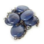 Blue Dumortierite Necklace