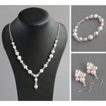 Blush Pink Stardust Jewellery Set
